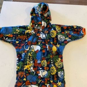 Baby Patagonia footed fleece